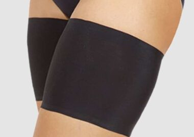 Black Unisex Thigh Bands